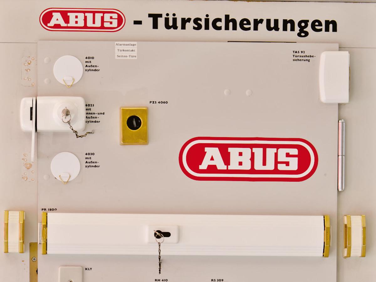 mechanische einbruchsicherung von abus – elektro feld ohg